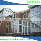 4Mil building window security film with sellf-adhesive transparent safety film foile 1.52*30m anti-UV Top qualit
