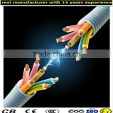 constant voltage heat tracing wire cable for roof and gutter snow melting with CE ISO