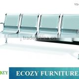 Airport stainless steel seating bench, Long link airport bench, waiting room bench