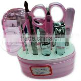 Newest Fantastic Multicolored Stainless Steel Manicure Pedicure Kits Electric Manicure