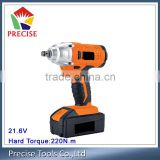 Li-ion Battery Power Impact Wrench Cordless