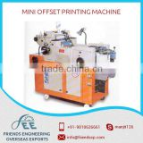 Standard Quality Mini Offset Printing Machine with Precise Design