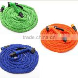 new product 2015 blue garden water hose with spray nozzle