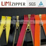 quality double open end zipper quality guarantee different types of zippers resilient wallet zipper