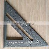 7'' Aluminum Square Angle Protractor/Triangular rafter Try square ruler adjustable square ruler