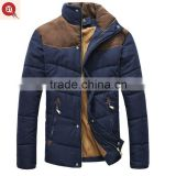 types of fabric material jacket varsity down jacket men, wholesale clothes made in china