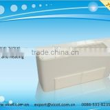 Ceiling exposed chilled water fan coil unit