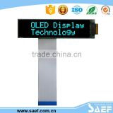 2.26 inch 16x2 character oled display module with 6800/8080/i2c/SPI interface& Blue color for industrial automation