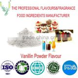 Food flavour ,vanillin powder flavour used in all products,Factory direct sale,for bakery,beverage,ice-cream,etc