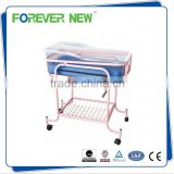 YXZ-007C CE approved steel hospital baby adult crib