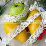 white cotton lace ribbon address acceory c250111