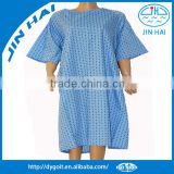 cotton patient gown for hospital