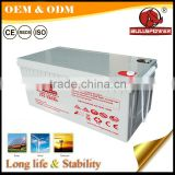 Top quality 12v 180ah lead acid battery for home solar power