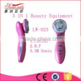 portable home use professional 3 in 1 ultrasonic led light skin lifting beauty equipment