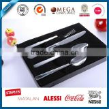 Top quality Western-style stainless steel cutlery with black gold planted, pvd cutlery, mexican cutlery