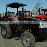 Compact garden turf tyre black tractor, 40HP, 4WD, can fit with 4in1 loader, backhoe, slasher, post hole digger.