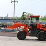 Linyi CAISE mini wheel loader tractor tiny mini cab with hydraulic motor backhoe