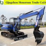 8 ton 0.35 m3 China low price and good qulity 8 ton hydraulic crawler excavator with auger