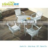 patio dining table plastic rattan chair furniture with ironing board