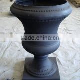 Classical Garden Decorative Cast Iron Flower Pots,antique cast iron flower planters pots and vase