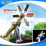 OEM manufacturers amusement park equipment top spin sky rides