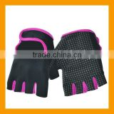 Womens Half Finger Fitness Gym Weight Exercise Gloves