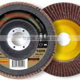 China supplier pexcraft T27 115mm flap disc for stainless steel polishing