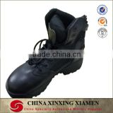 Wholesale Outdoor Black Genuine Leather Men's Boot Military Boots for Tactical Military