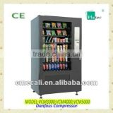 2015 snack and drink combo vending machine with CE