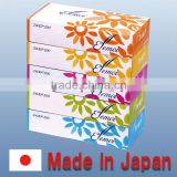 Reliable and High quality Handkerchief paper facial tissue with Functional made in Japan