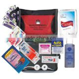Convention Meeting Kit - has a gum pack, lip balm, hand sanitizer, tissues, anti-acid, bandages, mints and comes with your logo