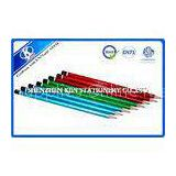 Girls Green / Blue / Red HEX Wood Painter Sketching Pencil Set Hot Stamping Logo