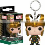 New Arival Pocket POP Keychain Marvel Loki, Marvel Mini PVC figure doll, POP figure toys