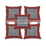 Patch Work Indian Cut Work Cushion Covers