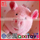 2016 Wholesale Cheap Custom Pig Piggy Bank stuffed animal Coin Bank