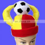 Hot selling football fans part hat for Spain fans