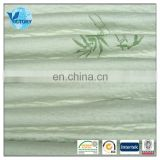 60% Polyester 40% Bamboo Fiber Plain Dyed Quilted Fabric Air Layer
