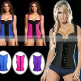 Wholesale 100% Latex Shapewear waist trainer body shapers corselet#SY-0025