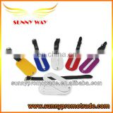new product colorful aluminum luggage tag with your LOGO