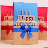 different design birthday card with bow knot handmade birthday greeting card designs