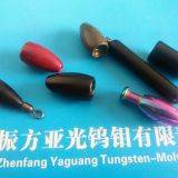 Customized high density tungsten fishing jig head