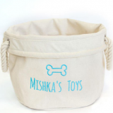 Canvas toy storage bag with good selling waterproof fabric