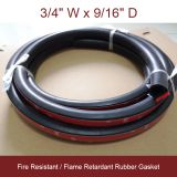 D-Profile D-shaped Sponge Rubber Seals 3/4' W  9/16'H China D sponge rubber profile with adhesive D section sponge