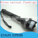 NINGHAI Tactical flashlight 3mode rechargeable zoom flashlight CREE XML T6 LED Flashlight