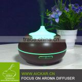 High Quality Ultrasonic Wood Grain Oil Diffuser Air Purifier With Humidifier