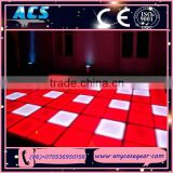 ACS led wedding party floor, led stage events light interactive led dance floor , rgb LED Brick dance floor