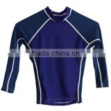 outdoor exercise lycra rash guard, mountain bike shirt