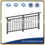 Professional manufacturer of aluminum stair handrail