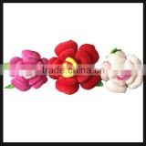 plush rose shaped/flower shaped stuffed pillow on sale