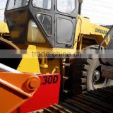 Good working condition used Dynapac vibration road roller CA30D with water coolant engine